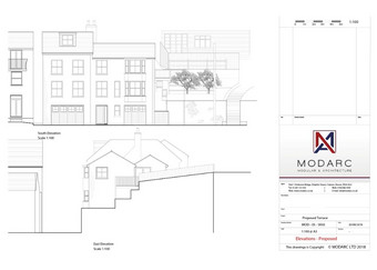 Two new townhouses - plans